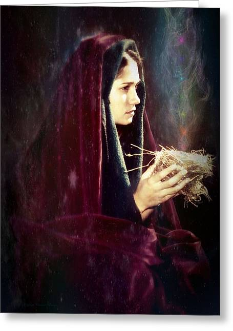 Empowerment Greeting Cards - Shatki Greeting Card by Christine Belanger