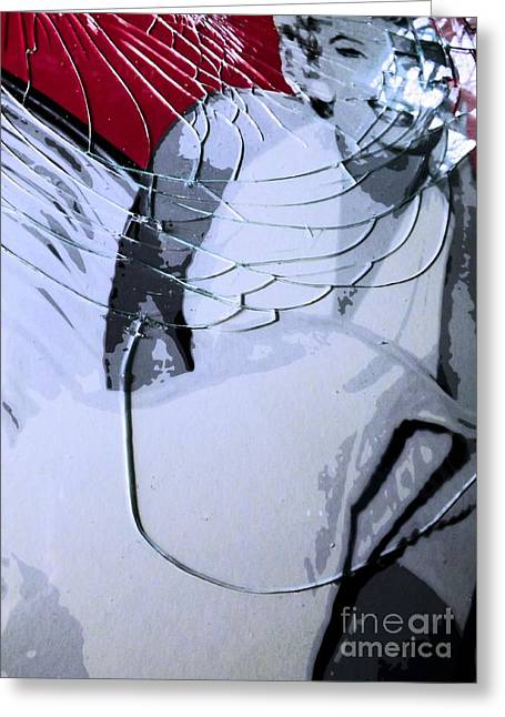 Shattered Greeting Card by Robyn King