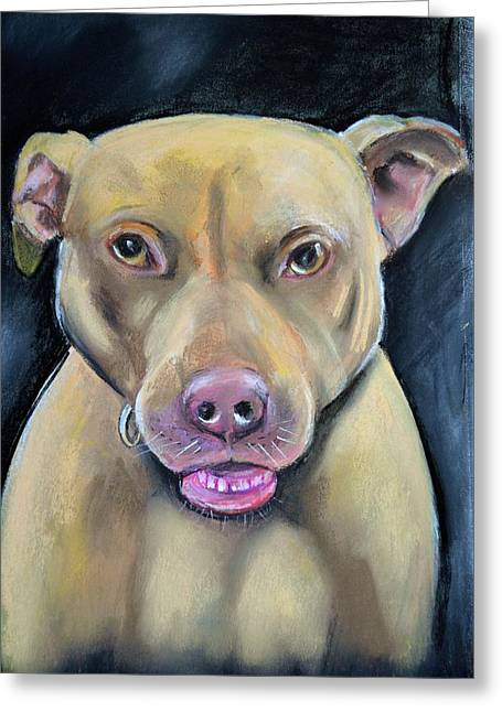 Height Pastels Greeting Cards - Shaylee Greeting Card by Cynthia Farr