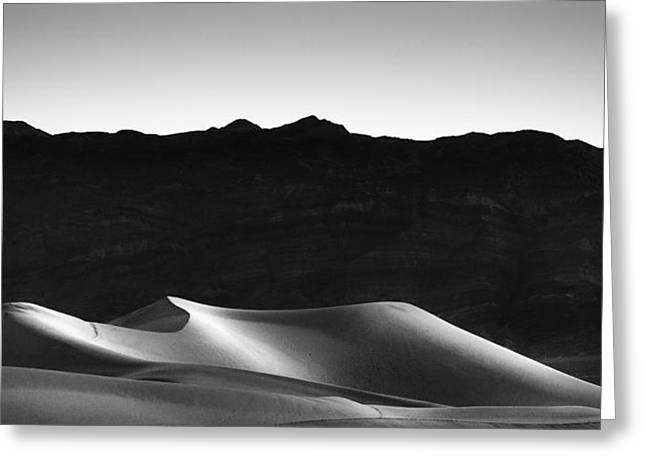 Desert Greeting Cards - She Sleeps on Her Side Greeting Card by Peter Tellone