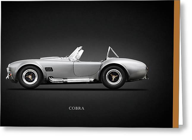 Cobra Photographs Greeting Cards - Shelby Cobra 427 SC 1965 Greeting Card by Mark Rogan