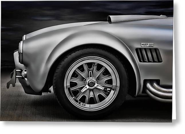 Sportscar Greeting Cards - Shelby Cobra GT Greeting Card by Douglas Pittman