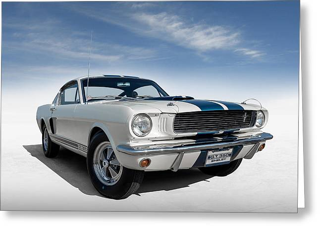 Shelby Mustang Gt350 Greeting Card by Douglas Pittman
