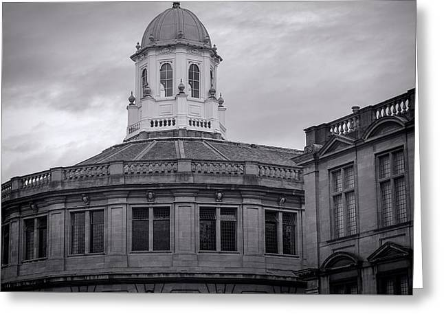 Cupola Greeting Cards - Sheldonian Theatre - Oxford Greeting Card by Stephen Stookey