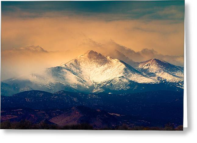Colorado Mountain Posters Greeting Cards - Shell Be Coming Around the Mountain Greeting Card by James BO  Insogna
