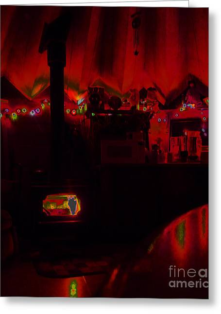 Yurts Greeting Cards - Shelter Greeting Card by JoAnn SkyWatcher