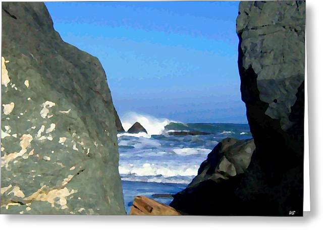 Sheltered From The Wind Greeting Card by Will Borden