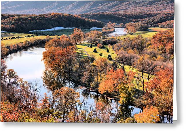 Shenandoah  Greeting Card by JC Findley