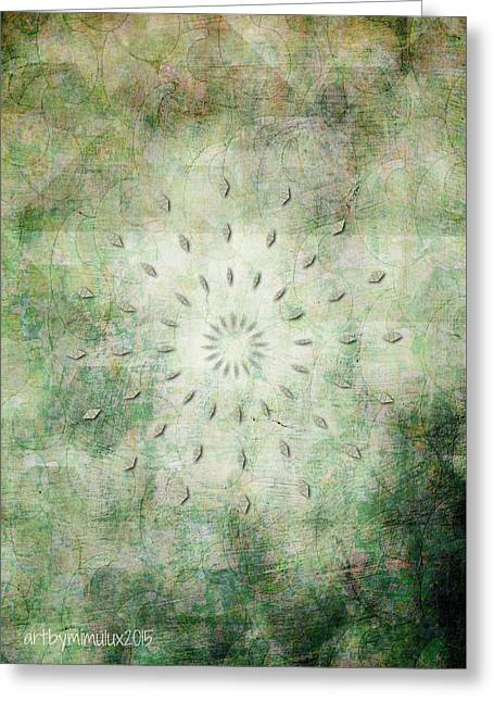 Yang Greeting Cards - Shine Your Light Greeting Card by Mimulux patricia no