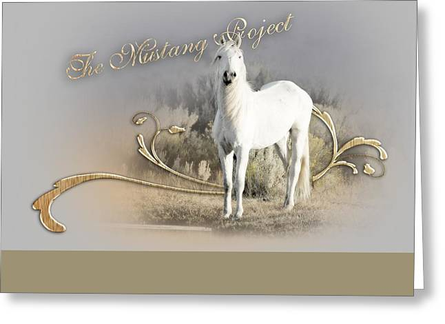 The Horse Greeting Cards - Shinning spirit Greeting Card by Marilyn Gregory