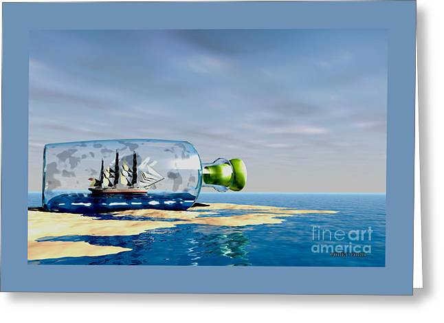 Ship To Shore Greeting Card by Corey Ford