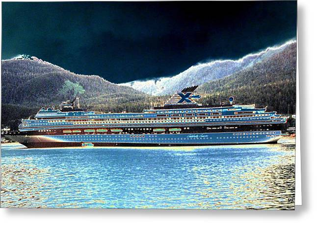 Boat Cruise Digital Greeting Cards - Shipshape 10 Greeting Card by Will Borden