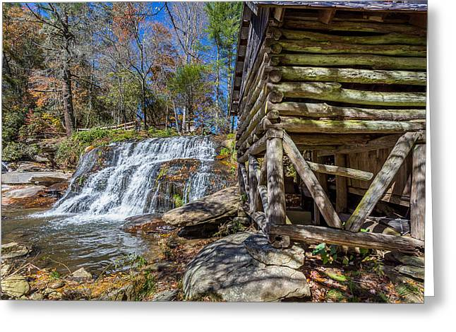 North Fork Greeting Cards - Shoal Creek 1 Greeting Card by A Different Brian Photography