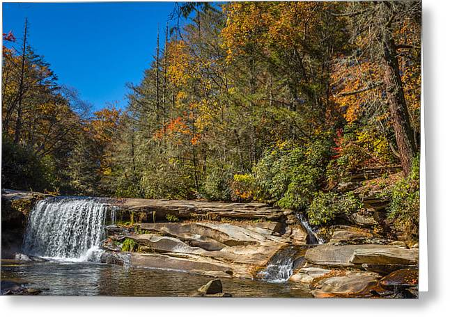 North Fork Greeting Cards - Shoal Creek 3 Greeting Card by A Different Brian Photography