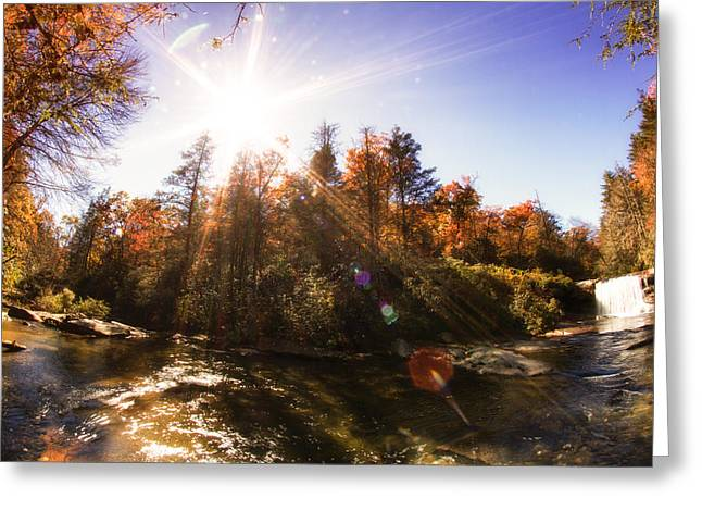 North Fork Greeting Cards - Shoal Creek 4 Greeting Card by A Different Brian Photography