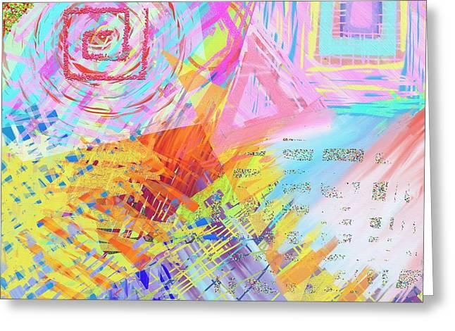 Shockwave Greeting Card by Jeremy Aiyadurai