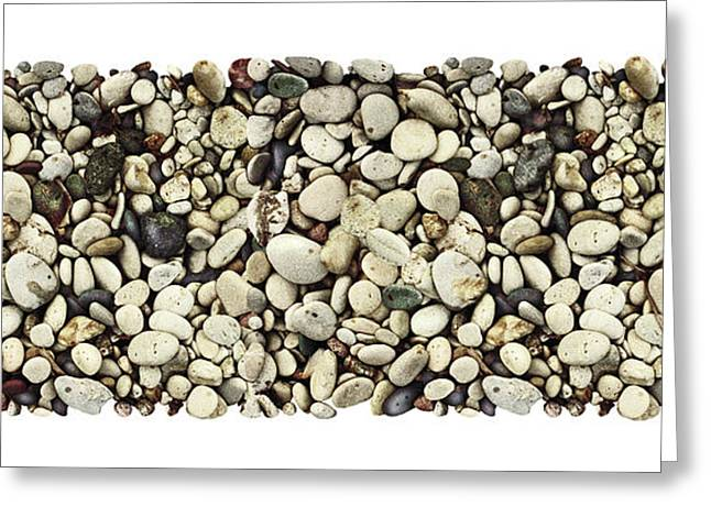 Lake Michigan Greeting Cards - Shore Stones 3 Greeting Card by JQ Licensing
