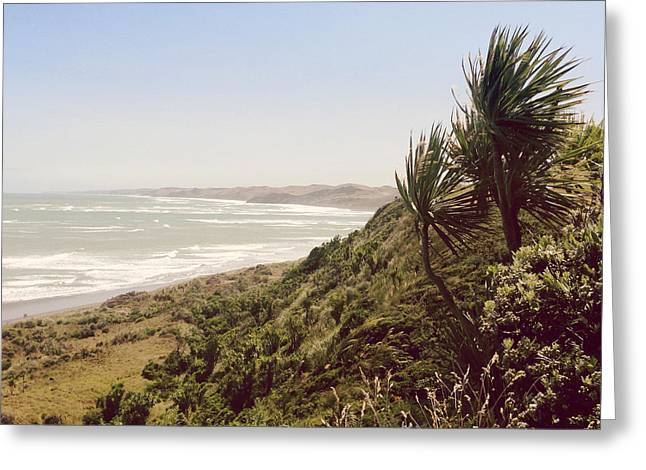 Outdoor Photographs Photographs Greeting Cards - Shoreline Greeting Card by Les Cunliffe