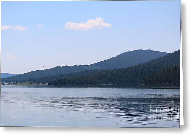Gallatin River Greeting Cards - Shoreline To Heaven Greeting Card by Susan Herber