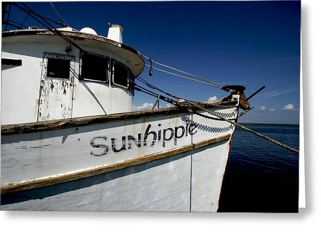 Shrimp Boat Captains Greeting Cards - Shrimp Boat II Greeting Card by Jeffrey Zipay
