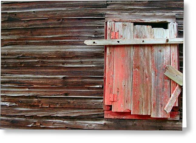Shuttered Greeting Card by Bruce Lennon