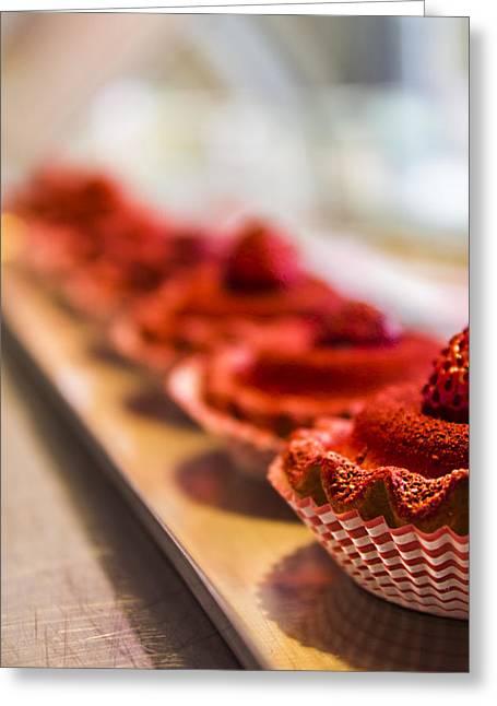 Reflex Greeting Cards - Dessert Greeting Card by Teodor Staicu