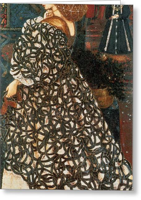 Poynter Greeting Cards - Sidonia von Borcke Greeting Card by Celestial Images