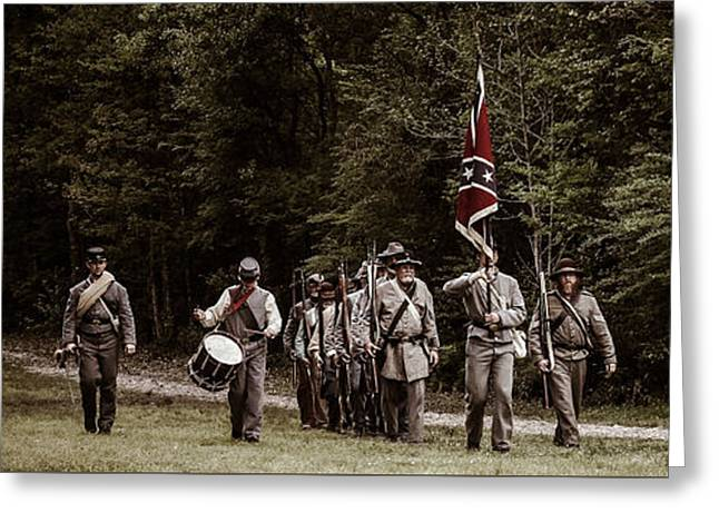 Confederate Flag Greeting Cards - Siege of Port Hudson  Greeting Card by 33 Photography