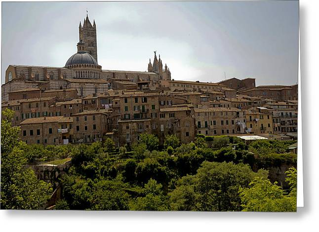 Sienna Italy Greeting Cards - Sienna Italy Greeting Card by Gene Myers