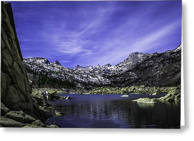 Scenic Drive Greeting Cards - Sierra Gem Greeting Card by Phil Fitzgerald