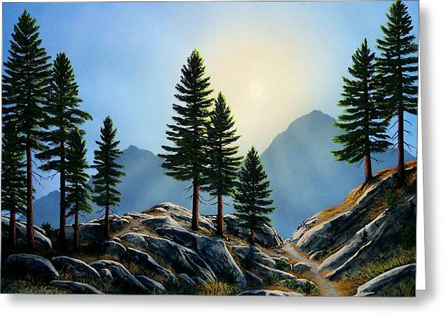 Pacific Crest Trail Greeting Cards - Sierra Sentinals Greeting Card by Frank Wilson