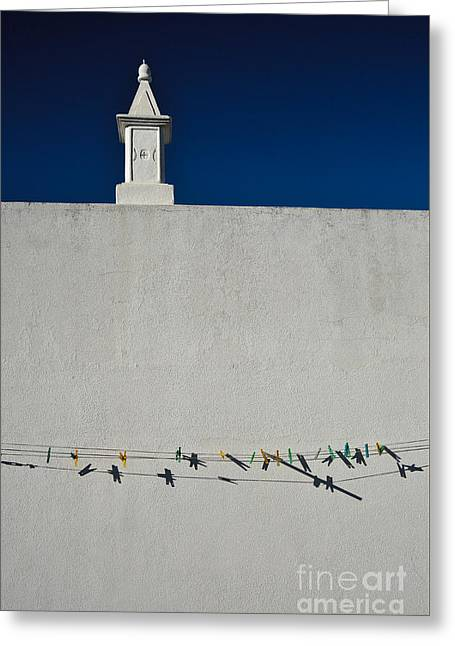 Algarve Greeting Cards - Sights of Urban Algarve Greeting Card by Angelo DeVal