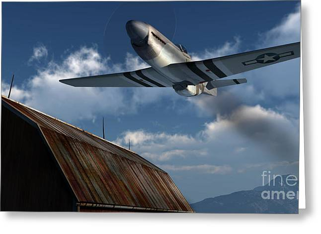 Sightseeing Greeting Card by Richard Rizzo