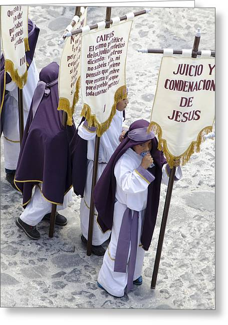 Holy Week Greeting Cards - Signs Of The Times Greeting Card by Michael  Scott