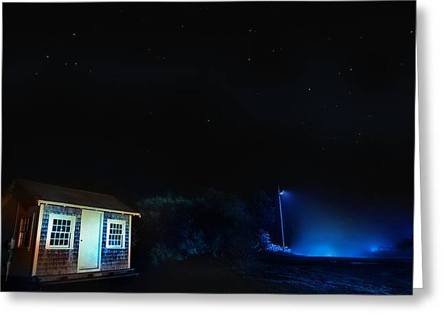 Silent Night Greeting Cards - Silent Night HDR Photography Greeting Card by Dapixara Art