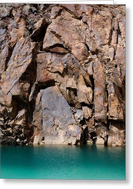 Silent Rocks Greeting Card by Konstantin Dikovsky