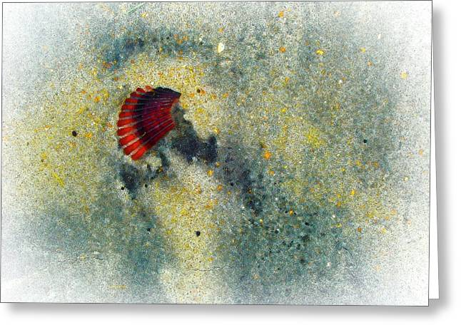 Copyright Protected. Greeting Cards - Silica Greeting Card by Robert Ponzoni