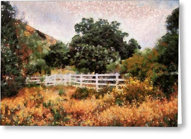 Ventura California Greeting Cards - Simi Valley from Hummingbird Trail 17 Greeting Card by Cindy Nunn