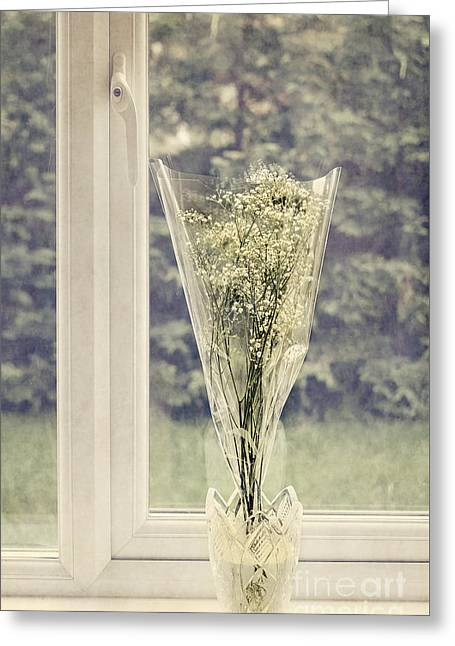 Simple Bouquet Greeting Card by Svetlana Sewell