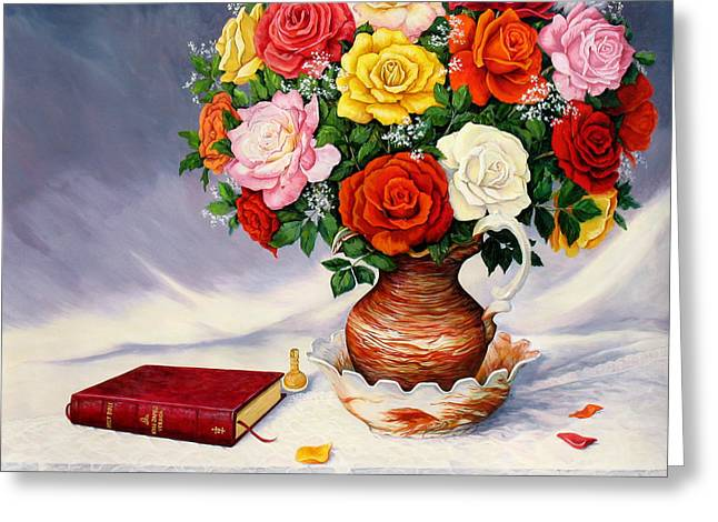 Bible Greeting Cards - Simple Faith Greeting Card by Vickie Lucas