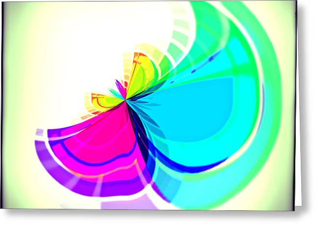Simple Flower Greeting Card by Susan Leggett