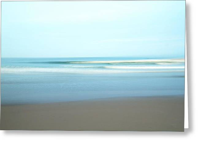 Ocean Art Photography Greeting Cards - Simplicity Greeting Card by Photographs by Joules