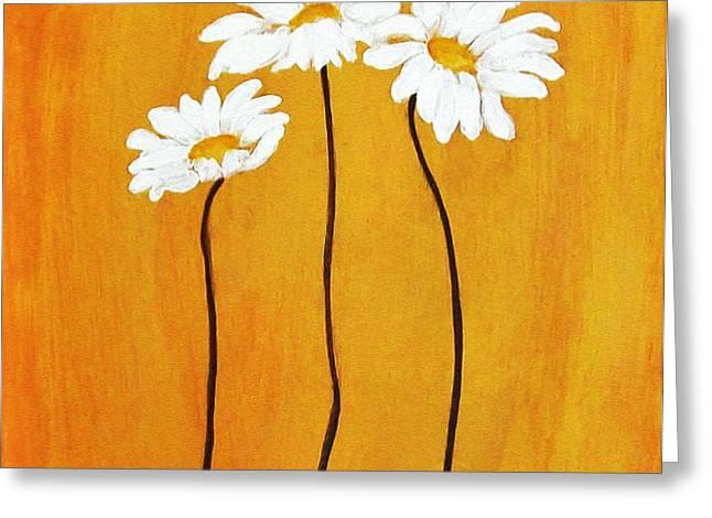 Simplicity l Greeting Card by Marsha Heiken