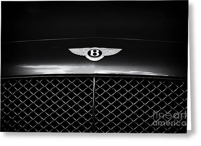 Simply Bentley Greeting Card by Tim Gainey