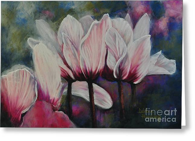 Sonoma County Pastels Greeting Cards - Sincerely Yours Greeting Card by Debbie Harding