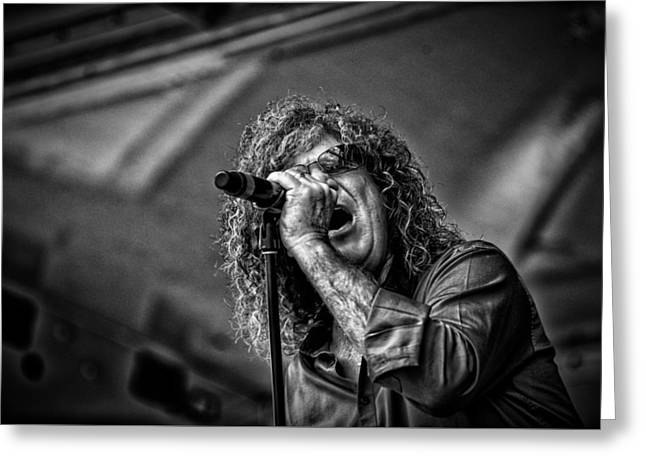 Photo Art Gallery Greeting Cards - Singer Stormbringer Greeting Card by Kevin Cable
