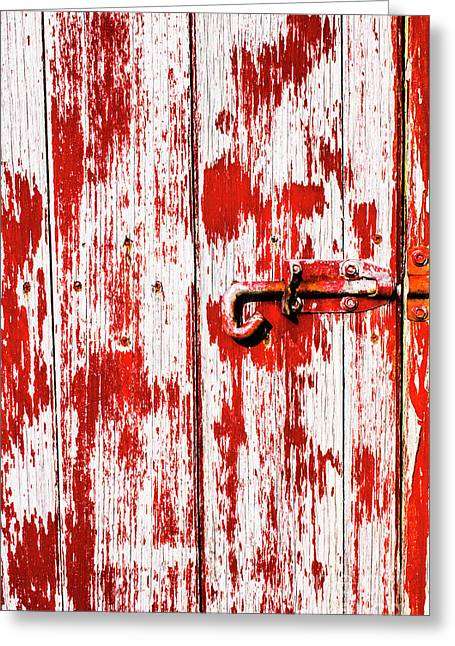 Sinister Country House Details Greeting Card by Jorgo Photography - Wall Art Gallery