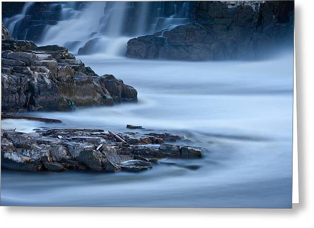 Sioux Greeting Cards - Sioux Falls Park South Dakota Greeting Card by Steve Gadomski