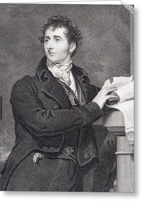 Francis Drawings Greeting Cards - Sir Francis Burdett 1770 To 1844 Greeting Card by Vintage Design Pics