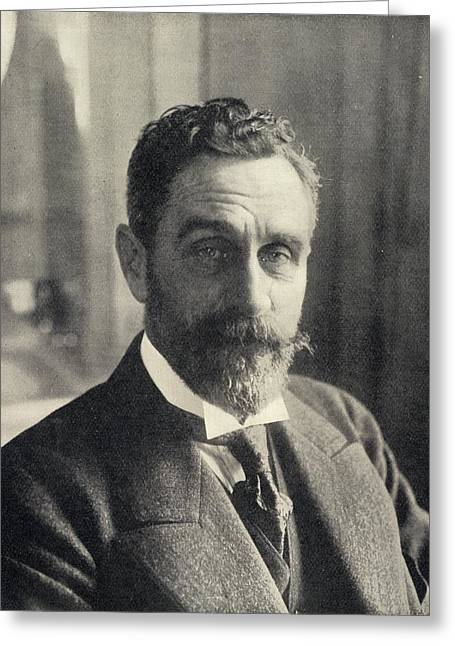 Rogers Drawings Greeting Cards - Sir Roger Casement, 1864-1916 Irish Greeting Card by Ken Welsh